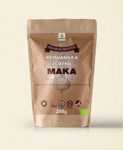 Organska peruanska zlatna maka prah
