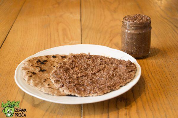 Biljni krem sa integralnim tortiljama