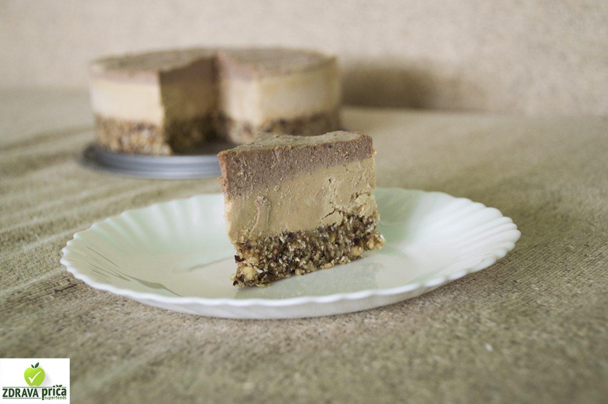 Raw jafa torta