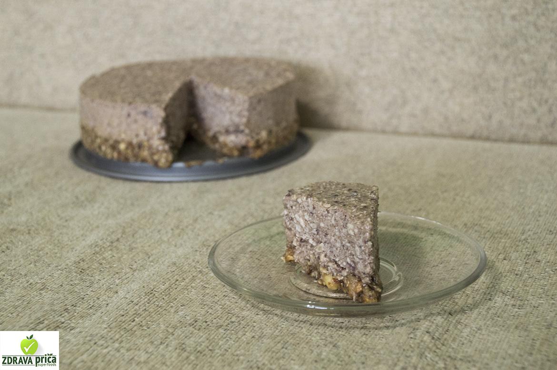 Raw čokoladna torta sa višnjama