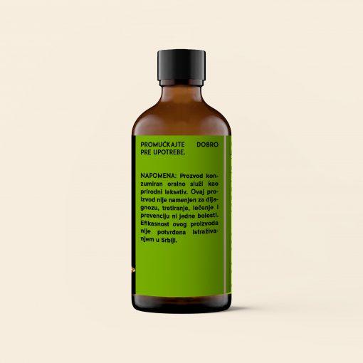 Ricinusovo ulje napomena